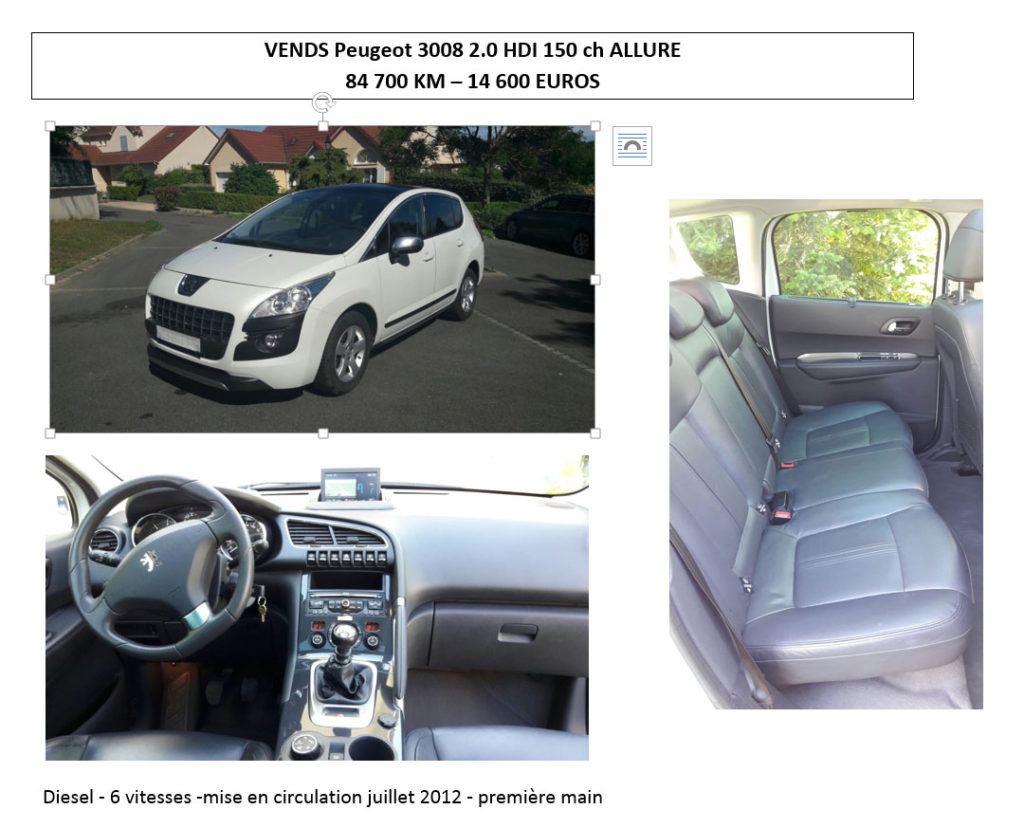 page-voiture